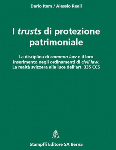 Dario Item: La fiducie de protection d'actifs