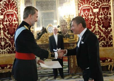 Dario Item Gallery Presentation of Credentials Spain (10)